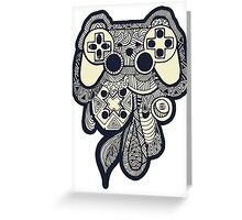 Games Console Greeting Card
