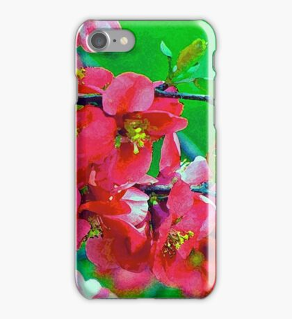 Dry Brush Flowers iPhone Case/Skin