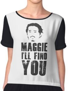 Glenn - Maggie, i'll find you Chiffon Top