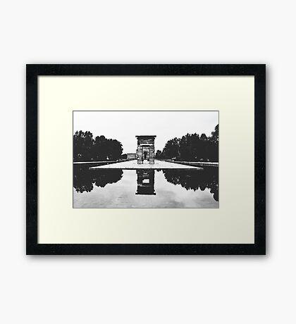 Templo De Debod Framed Print