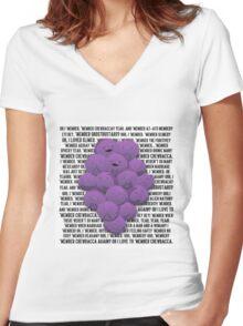 MEMBER BERRIES SOUTH PARK Women's Fitted V-Neck T-Shirt