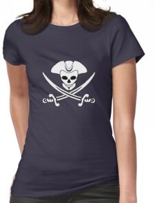 "Jack ""Calico"" Rackham's Jolly Roger Womens Fitted T-Shirt"
