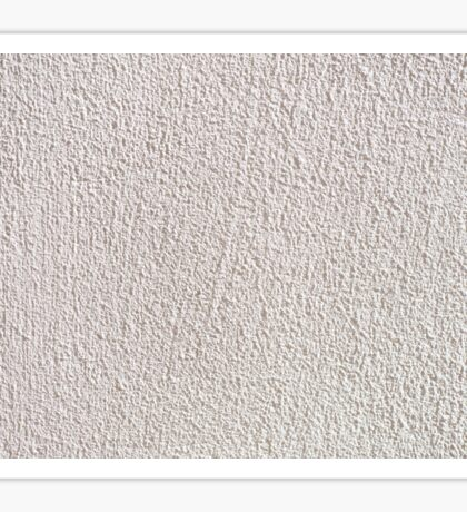 White grained wall surface texture  Sticker