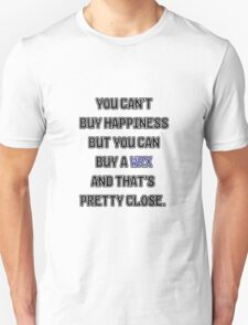 Happiness is WRX Unisex T-Shirt
