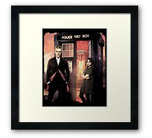 Capaldi Doctor Who Framed Print