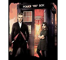 Capaldi Doctor Who Photographic Print
