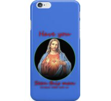 Have you seen this man? Jesus, man... iPhone Case/Skin