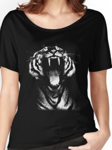 tiger, screaming tiger Women's Relaxed Fit T-Shirt