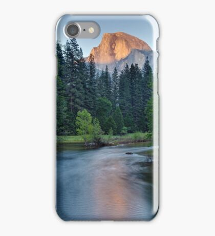 Half Dome Sunset - HDR iPhone Case/Skin
