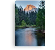 Half Dome Sunset - HDR Canvas Print