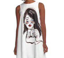 Viewfinder  A-Line Dress