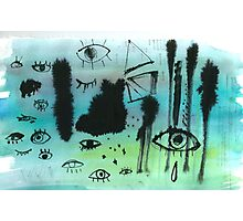Real Eyes Photographic Print