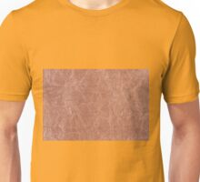 Brown canvas cloth texture abstract Unisex T-Shirt