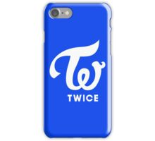 Twice Logo Blue Cheer Up iPhone Case/Skin