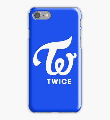 Twice Logo Blue Cheer Up iPhone Case/Skin