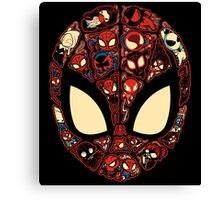 Marvelous Lil Spiders Canvas Print