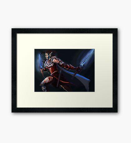 Elven Rogue Framed Print