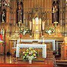 Altar of a Catholic Church by henuly1