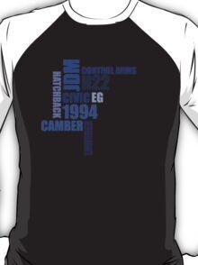 1994 civic eg mod collage T-Shirt