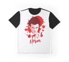 BLOODY ELEVEN - Stranger Things Graphic T-Shirt