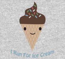 I run for ice cream One Piece - Long Sleeve