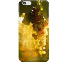 White Zinfandel Grapes iPhone Case/Skin