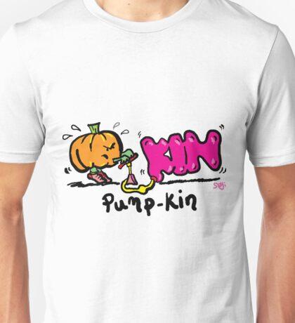 Pumpkin pump Unisex T-Shirt