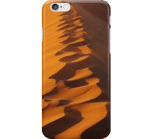Walking On The Sand Dune iPhone Case/Skin