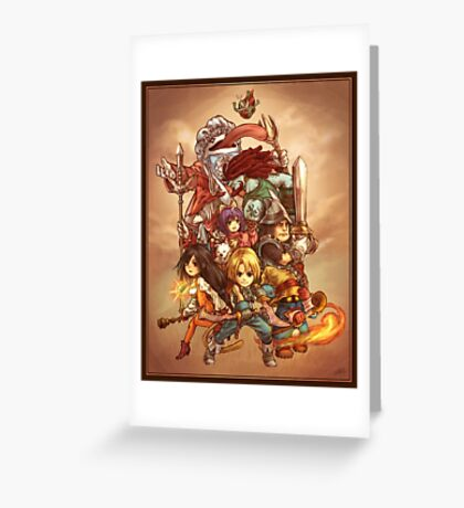 FFIX - Tribute Greeting Card
