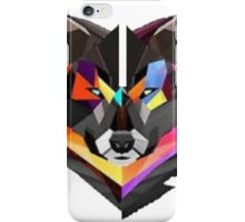COLORED WOLF (abel in all colored) iPhone Case/Skin
