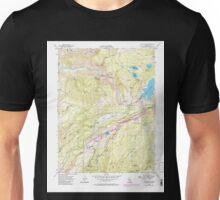 USGS TOPO Map California CA Blue Canyon 288503 1955 24000 geo Unisex T-Shirt