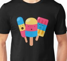 Happy Icecream Popcicle Sweets Candy Unisex T-Shirt