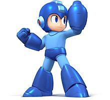Megaman/Rockman character Photographic Print
