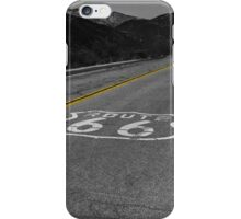 Route 66 #4 iPhone Case/Skin
