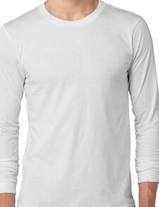 I Run On Caffeine Chaos And Cuss Words - Funny  Long Sleeve T-Shirt