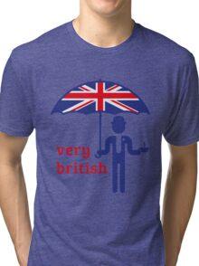 Very British Gentleman Tri-blend T-Shirt