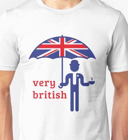 Very British Gentleman Unisex T-Shirt