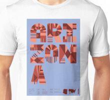 Typographic Arizona State Poster Unisex T-Shirt