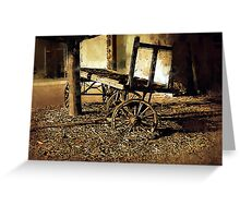 Paint Your Wagon Greeting Card