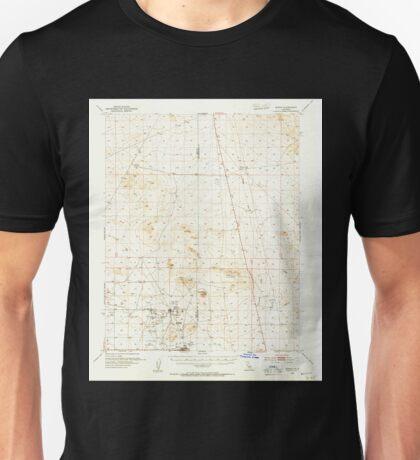 USGS TOPO Map California CA Boron 296870 1954 62500 geo Unisex T-Shirt