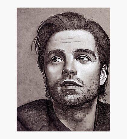 Sebastian Stan  Photographic Print