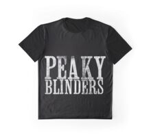 Peaky Blinders Title Graphic T-Shirt