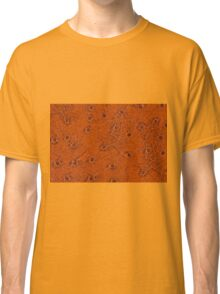 Rusty spotted leather sheet texture Classic T-Shirt