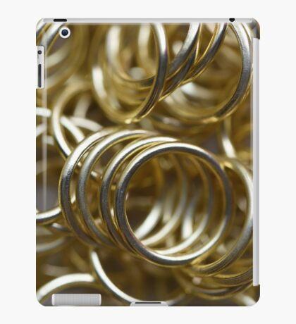 Golden Rings iPad Case/Skin