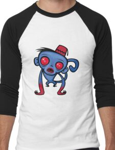 Zombie Monkey Men's Baseball ¾ T-Shirt