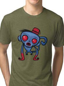 Zombie Monkey Tri-blend T-Shirt