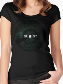 Sir Sly You Haunt Me  Women's Fitted Scoop T-Shirt