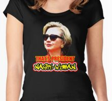 That's President Nasty Woman Women's Fitted Scoop T-Shirt
