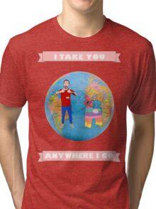 DILLON FRANCIS ANYWHERE Tri-blend T-Shirt