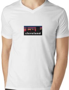 Cleveland Mens V-Neck T-Shirt
